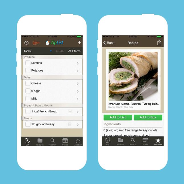 Use this app to turn Pinterest recipes into grocery lists.