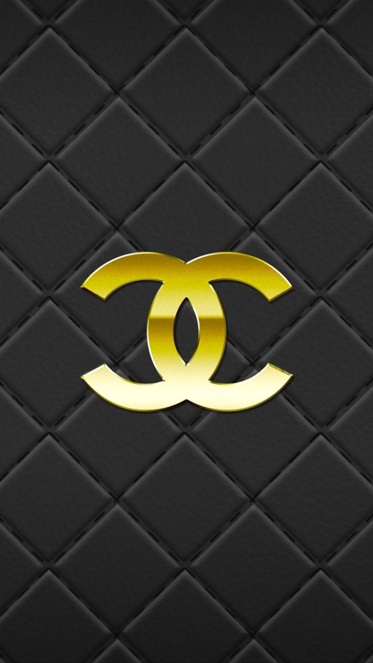 Iphone wallpaper tumblr chanel - Chanel Gold And Black Quilted Iphone Phone Wallpaper Background Lockscreen