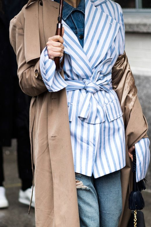 An Incredibly Chic Layered Look to Try This Fall