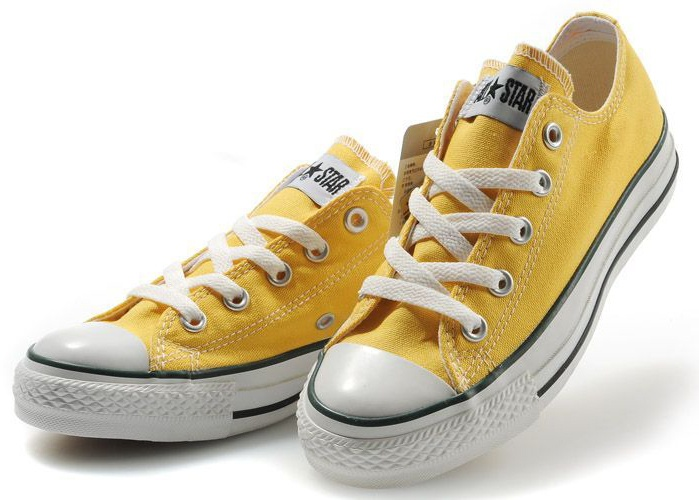 470e2f4c592b3 yellow converse allstars chucks