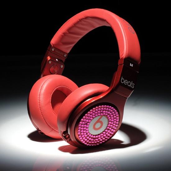 Beats By Dre Pro Detox Occasion Ovo Diamant Rouge Rose Pas Cher