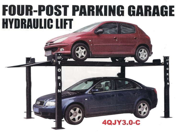 20 best parking garage lifts images on pinterest garage for Car lift plans