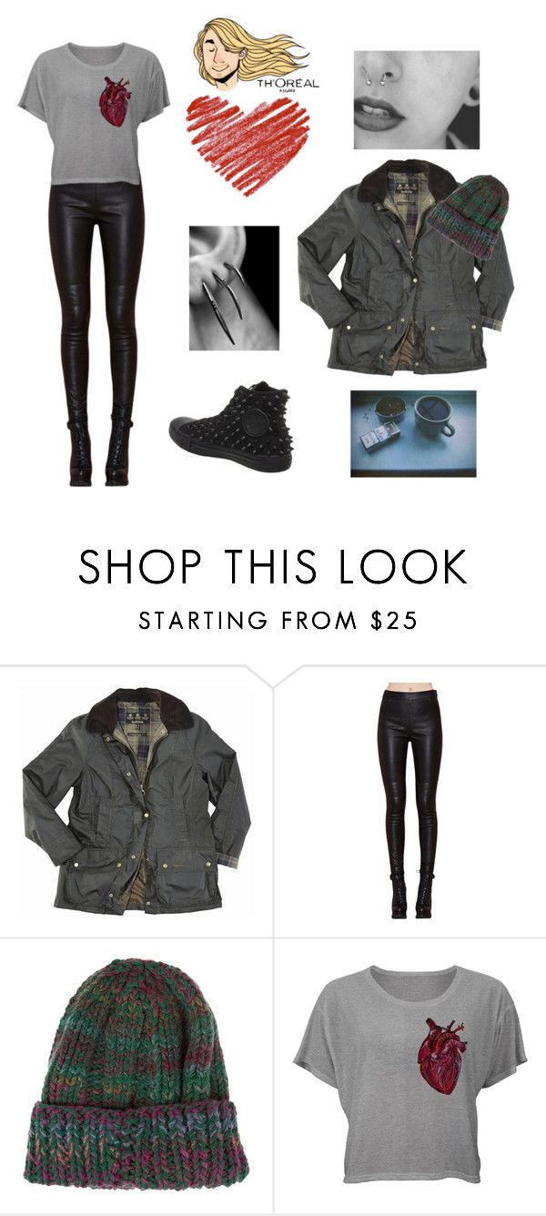 """Untitled #712"" by akts on Polyvore featuring Barbour, Etro and Converse"