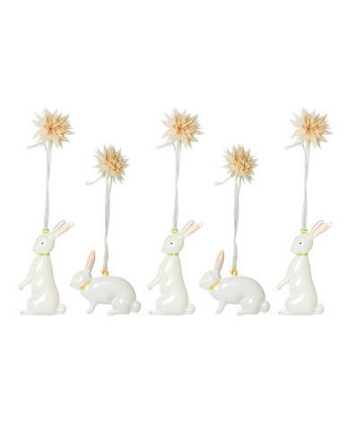 64 best hop to it easter gifts images on pinterest easter gift maileg easter metal ornaments in gift box bunnies negle Images