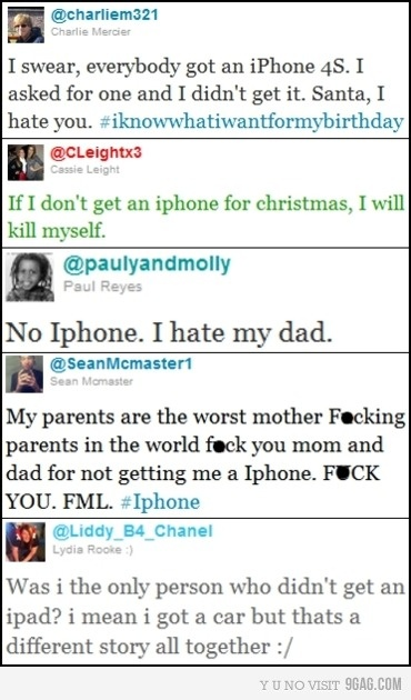 You have an iphone?