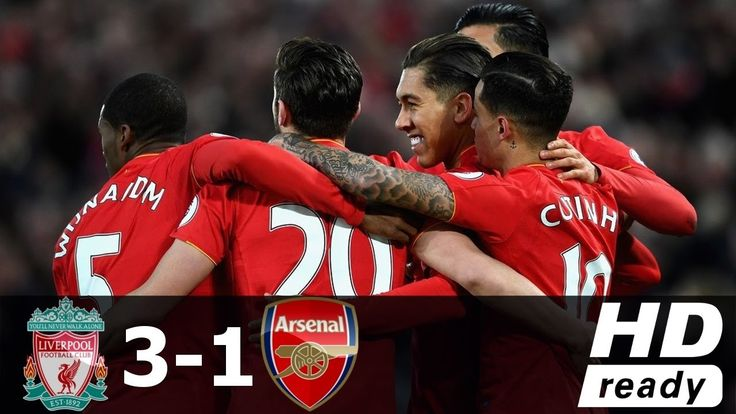 Ливерпуль 3-1 Арсенал - Обзор Матча 04/03/2017 HD