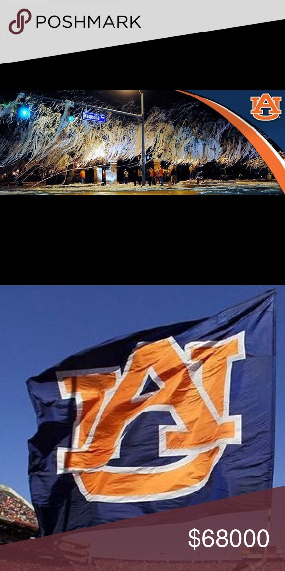 IRON BOWL 2017 WAR EAGLE!!!!!  I will only be checking my closet a few times because it's time for the biggest college football rivalry game of the year!!!!  WAR EAGLE!!!! Auburn Football Other