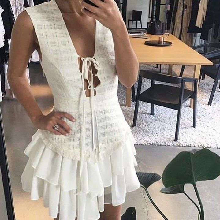 The @shonajoy2026 'Venus' Waistcoat Dress is now only $190! Available in Black and Ivory  Spin the wheel online and get 10-30% off money off or free shipping!  @afterpay.au available  #shonajoy #lookbookboutique #lookbook #afterpay #afterpayit #sale #dress #partydress #ootd #ootn #fashionista #fashionblog #style #styling #styleblogger #blogger