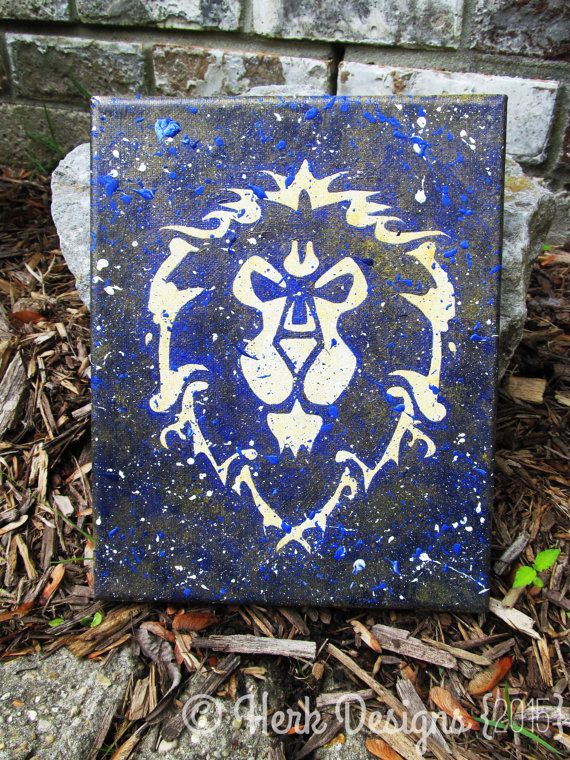 World of Warcraft Alliance Painting If your heart belongs to the Alliance then this is a must have painting!