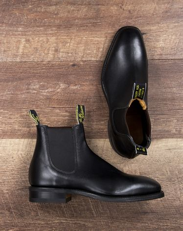 A pair of RM Williams boots is mandatory in every Aussie wardrobe.