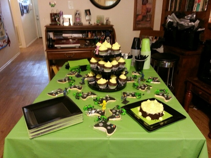 Halo Xbox Theme Delicious Creations Pinterest Halo