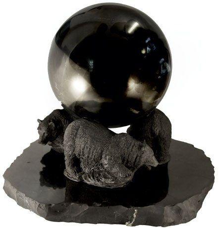 Big ball on bears by ShungiteofKarelia on Etsy