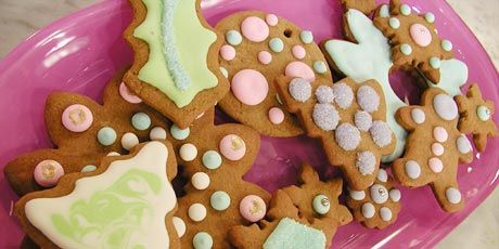 "Gingerbread Cut-Out Cookies.  I hate gingerbread but Cole wants be to make some this year.  Described as ""Moist and chewy, these gingerbread cookies are loved by one and all"""
