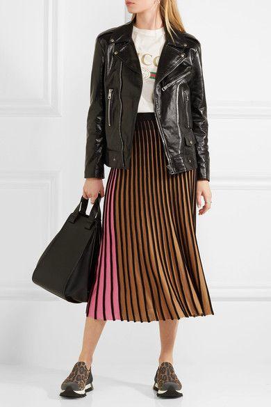 Dolce & Gabbana - Ibiza Leopard-print Neoprene Slip-on Sneakers - Leopard print - IT36.5
