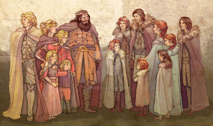 Where It All Began - Starks, Lannisters, Baratheon by duhi.deviantart.com on @DeviantArt