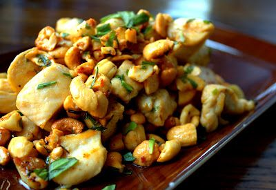Manila Spoon: Chicken, Cashew and Tarragon Stir-fry