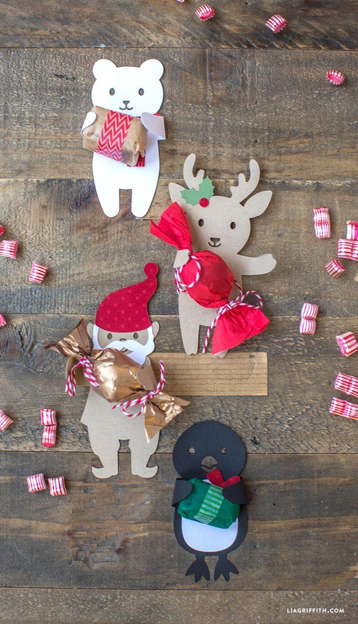 idée pour un calendrier de l'avent. Candy Huggers for the Holidays