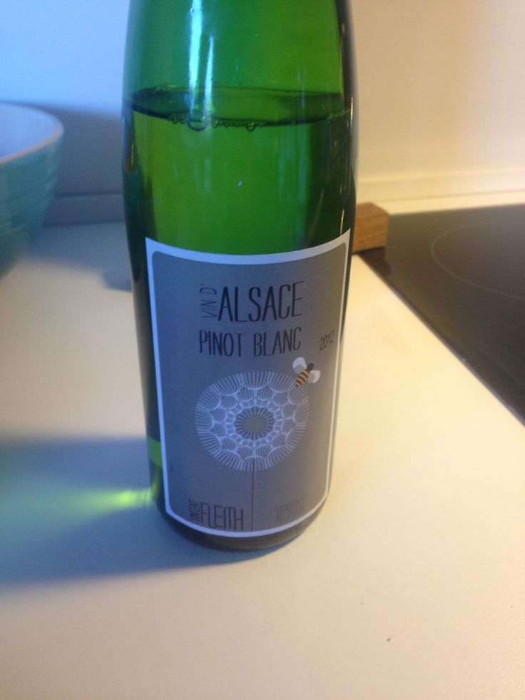 Pinot blanc, Alsace.