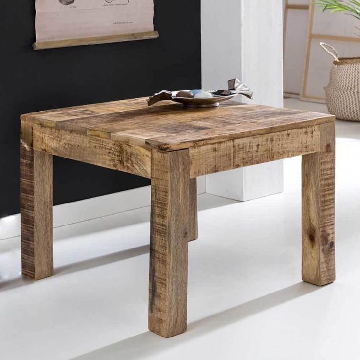 Wohnzimmertisch Mit Antik Finish Holz Massiv Jetzt Bestellen Unter