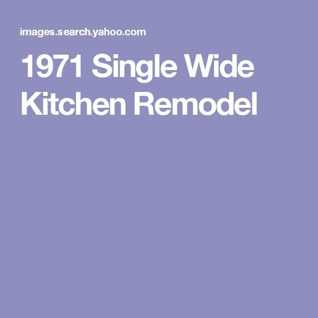 Kitchen Update Cost Estimate: 25+ Best Ideas About Single Wide Remodel On Pinterest