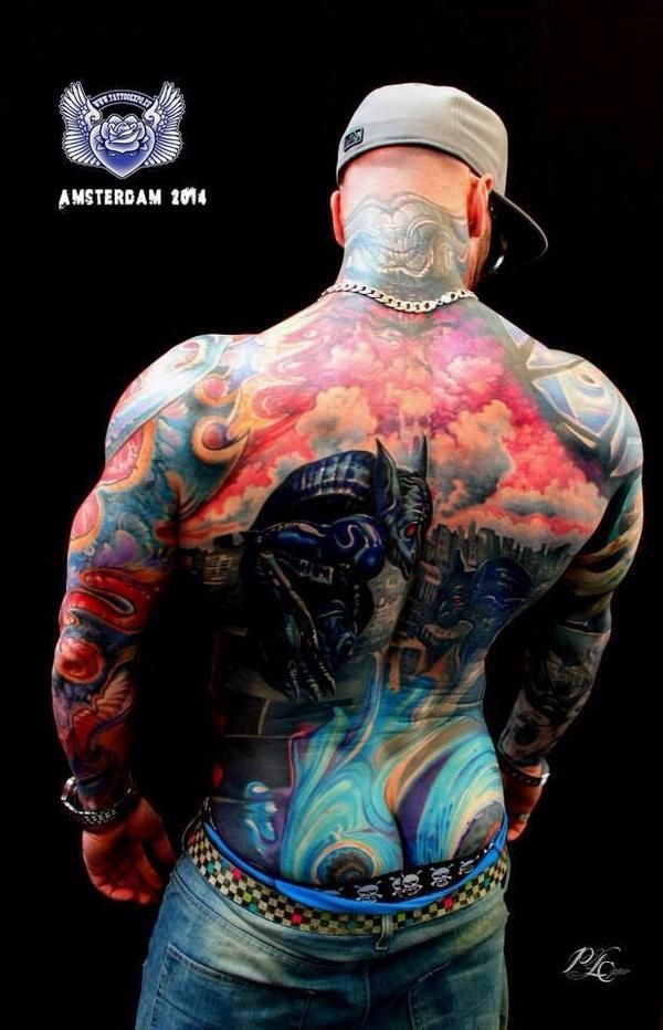 35 best tatoo images on pinterest tattooed man hot guys for Amsterdam tattoo artists