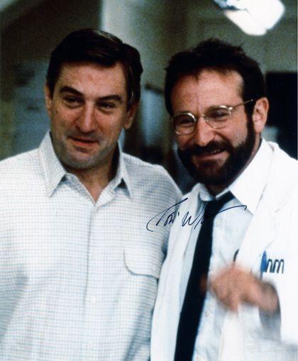 Robin Williams et Robert de Niro dans le film L'Éveil.