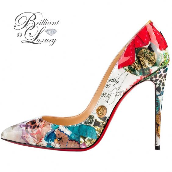 Brilliant Luxury by Emmy DE ♦ Christian Louboutin 'Pigalle Follies' #Christian…