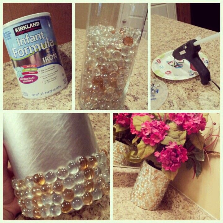 Baby formula Vase Super easy super cheap!