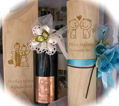 Astucci vino e bottiglie personalizzate