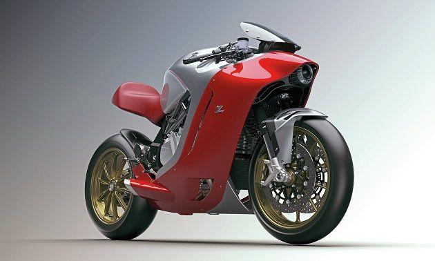 近未来的なボディのスーパーバイク「MVアグスタ F4Z」の写真が公開される。ミラノの著名デザインハウスとコラボ - Engadget Japanese