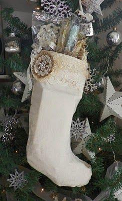 vintage inspired stocking!