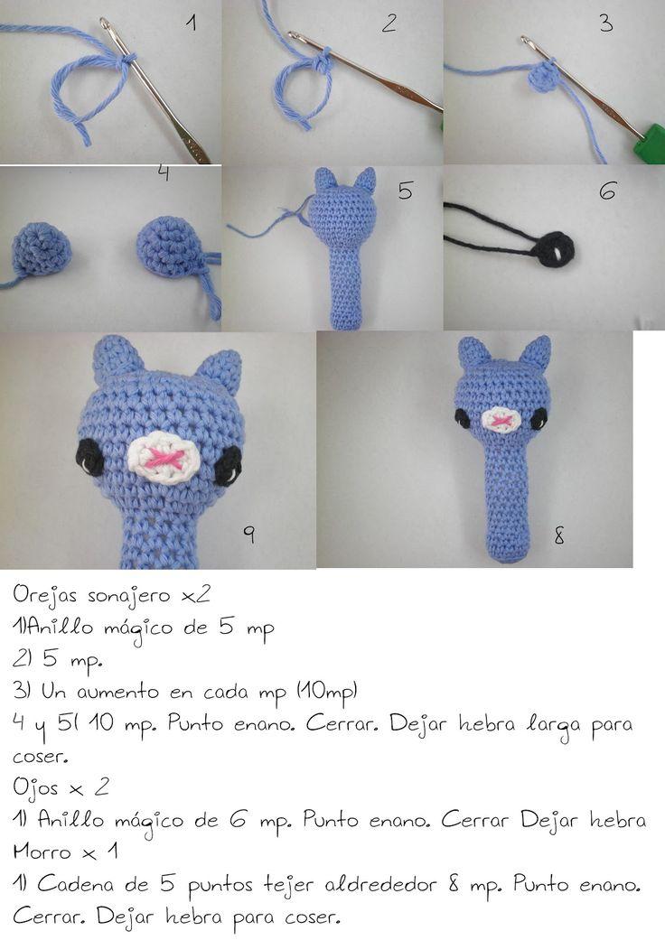 Las 13 mejores imágenes sobre crochet en Pinterest