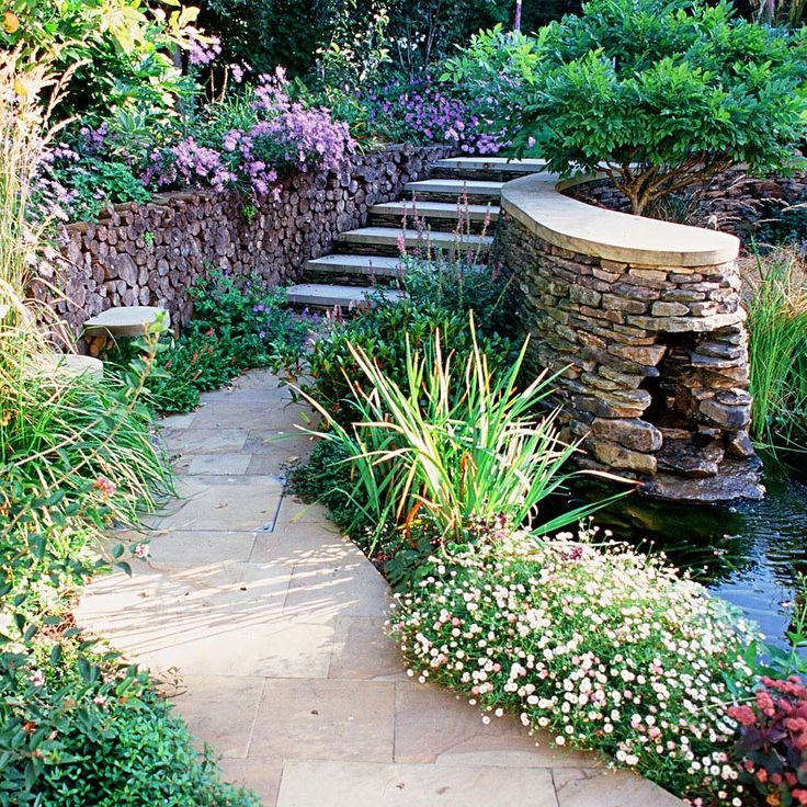 Pathways In Gardens 393 best sloping gardens images on pinterest | gardens, sloping