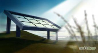 hacer un panel solar