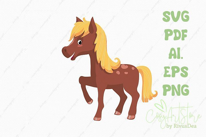 Horse Svg Download Baby Horse Png Illustration 366423 Svgs Design Bundles Baby Horses Cute Horses Cute Baby Animals