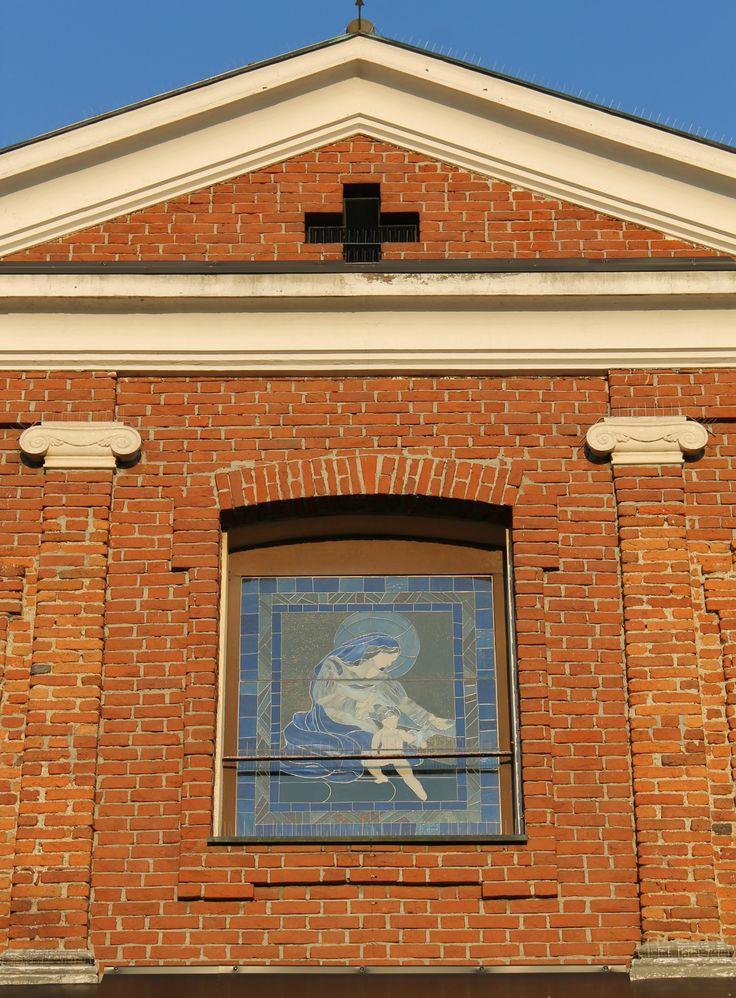 Opera vetraria Giubileo - esterno, chiesa santa Maria della Neve | Bareggio
