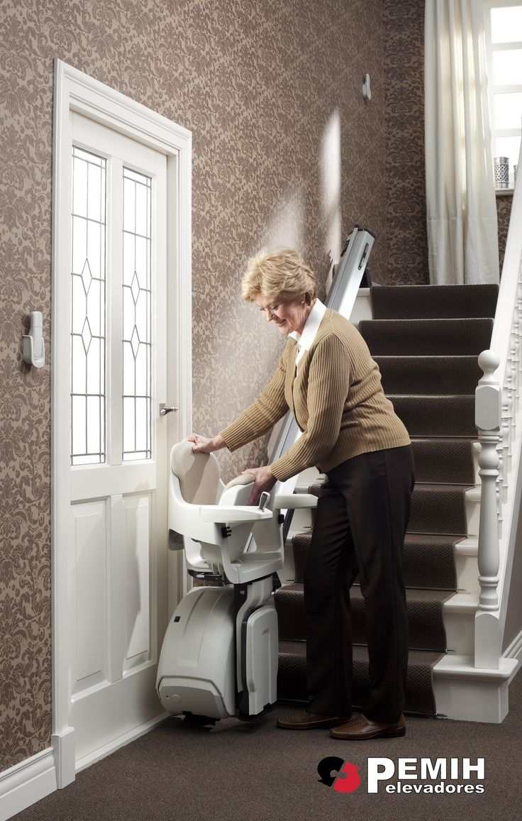 silla salvaescaleras para escaleras rectas http://www.pemih.com/sillas-y-plataformas-salvaescaleras/
