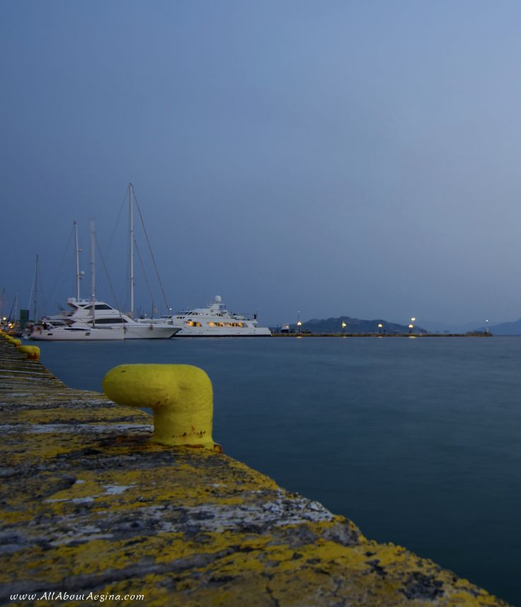 The Port of Aegina, Aegina Island
