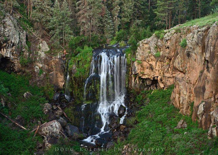 Pacheta Falls, near Maverick, AZ. On the White Mountain ...