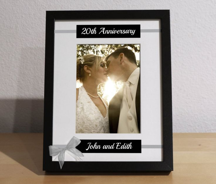 20th Anniversary Gift, 20th Wedding Anniversary, 20th Anniversary Gift for Parents, Custom Picture Frame, Personalized, Anniversary Party by KimKimDesigns on Etsy https://www.etsy.com/listing/251139508/20th-anniversary-gift-20th-wedding