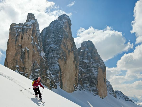 Cortina d'Ampezzo, Italy  Best For: Aesthetically minded skiers who appreciate fine wine.  Sounds like my kind of place.