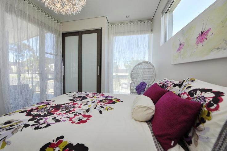 Upstairs display home bedroom.