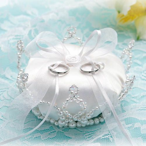 Porta aliança de coroa - digno de uma princesa