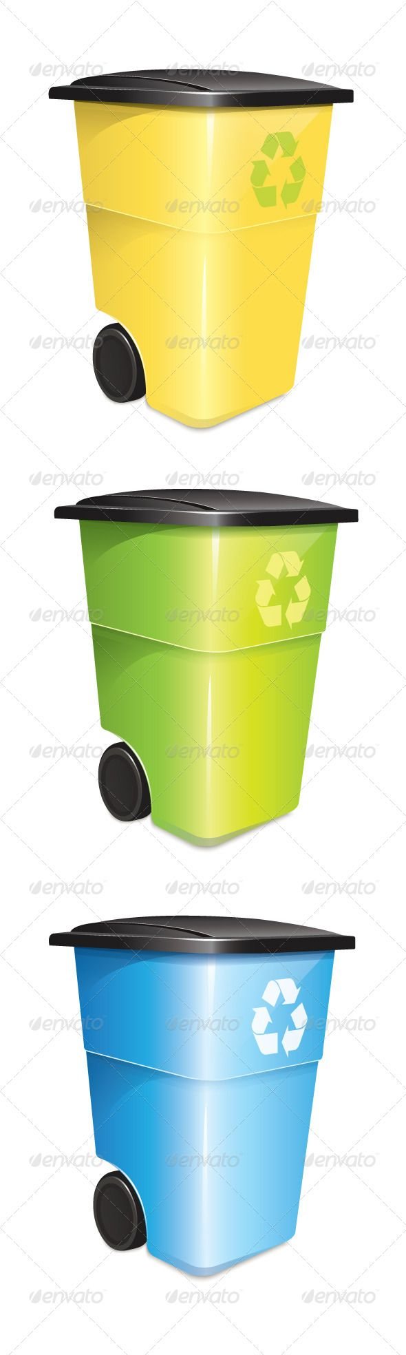 "Garbage Container Set  #GraphicRiver        Includes:  	 FOLDER: ""Garbage Container Set – JPG"" Contains: jpg image  	 FOLDER: ""Garbage Container Set – EPS"" Contains: fully editable Vector Object EPS. Minimum Adobe Illustrator CS Version – CS10.  	 FOLDER: ""Garbage Container Set – AI"" Contains: fully editable AI file. Minimum Adobe Illustrator CS Version – CS10. The image is made up entirely of vector shapes so you may resize to whatever size you need.     Created: 20November13…"