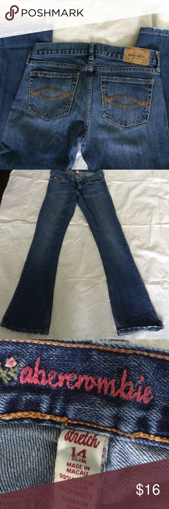 Abercrombie girls stretch 14 Good condition Bottoms Jeans