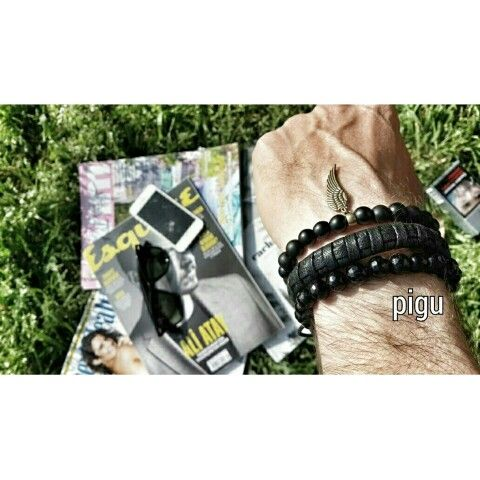 Bracelet men Fashion style . Instagram: @pigudesign