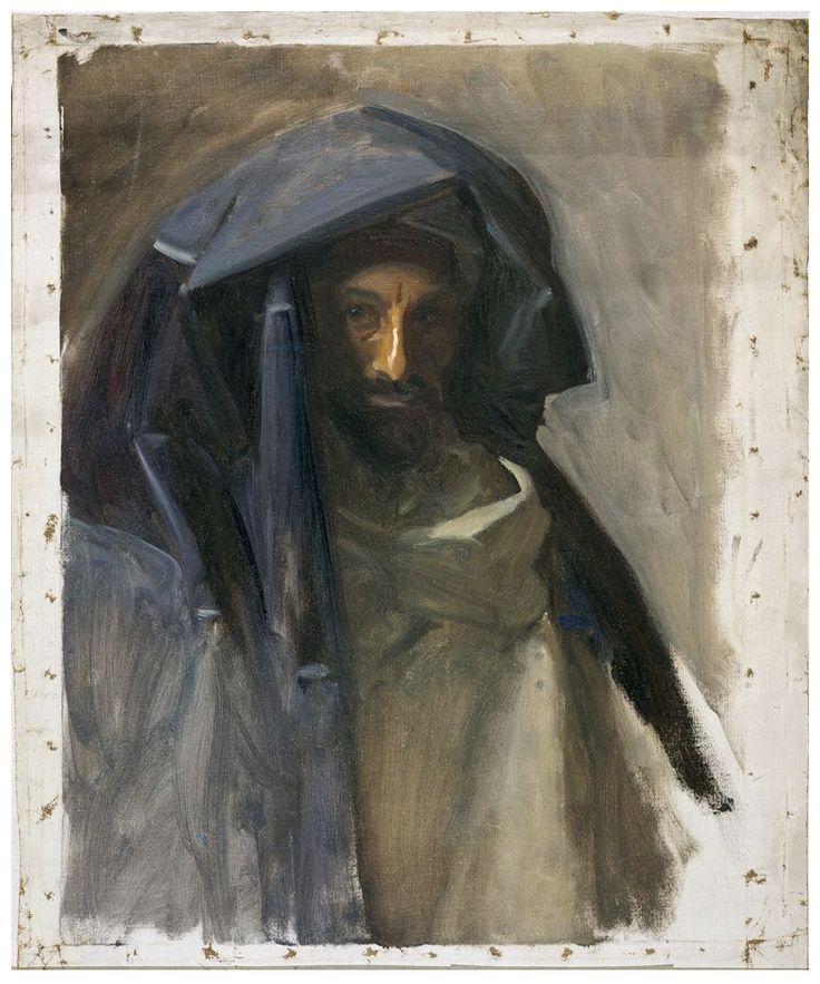 John Singer Sargent - Man in a Blue Mantle, 1891