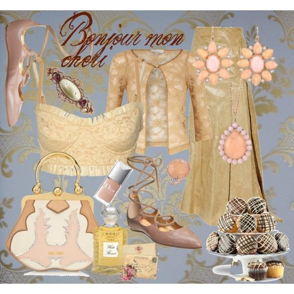 Bonjour mon cheri, created by dea-afrodite on Polyvore