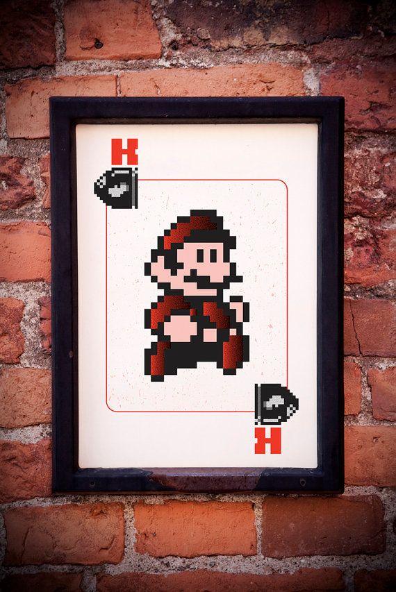 Nintendo Wall Art 163 best wall art images on pinterest