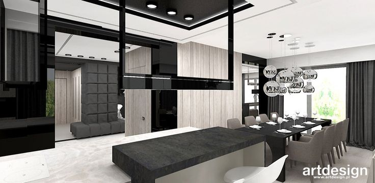 RETURN TO THE SOURCE | W2 | Wnętrze domu | Projekt kuchni i jadalni